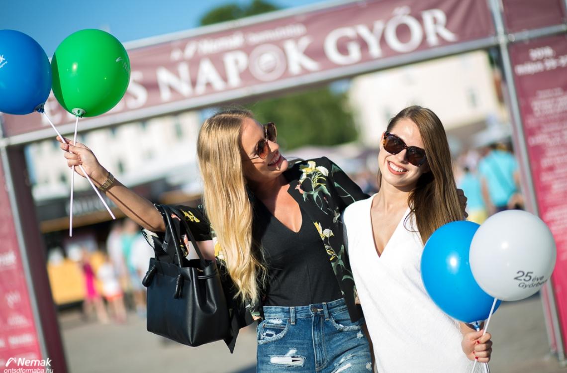 2018-ban is édes örömöket hoztunk Győrnek