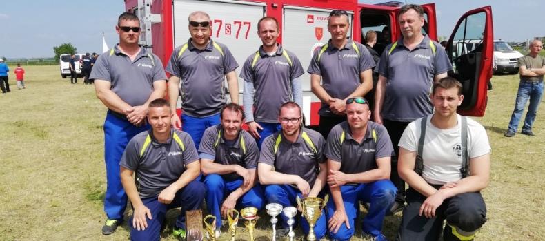 Önkéntes tűzoltóink sikere